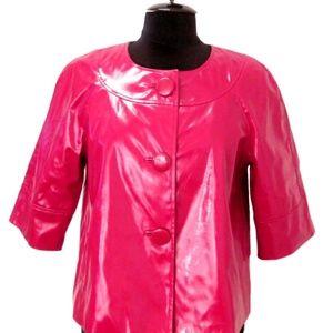 Studio Works Red Shiny Jacket ~ Size S